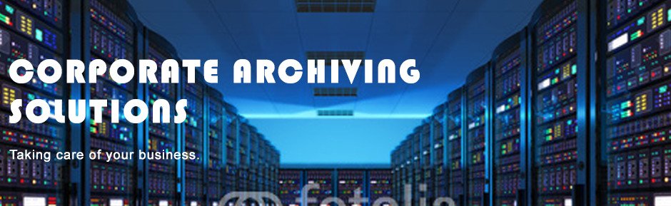 corporate archiving banner